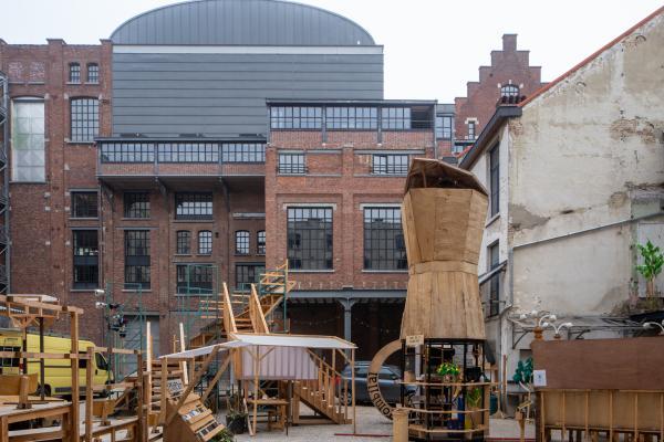 Recyclart op de Manchestersite