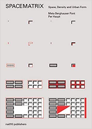 Spacematrix, Space, Density and Urban form - Meta Berghauser Pont & Per Haupt