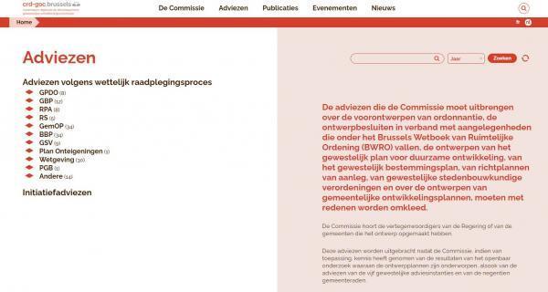 Nieuwe website van de GOC