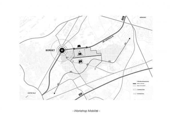 Stadsproject Defensie-site : mobiliteit