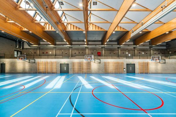 Van Oost-sportzaal in Schaarbeek