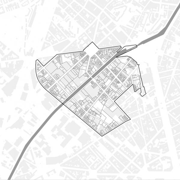 Le perimetre du PAD Heyvaert