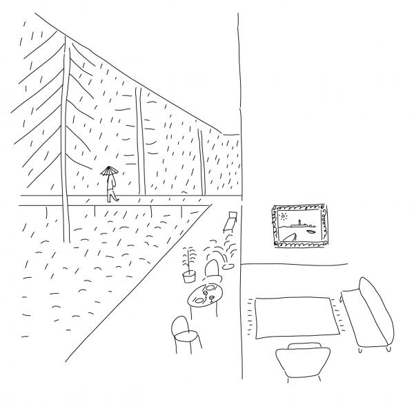 Illustratie verslag van de werkzaamheden
