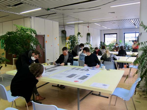 Atelier met de verenigingen in oktober 2020