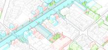 Proposition de réaménagement des espaces publics et des espaces verts autour du canal et de la rue Heyvaert