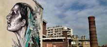 Graffiti Terrasse Mima