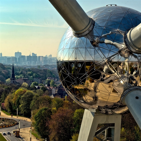 Copyright : © www.atomium.be - SABAM 2011 - Normann Szkop