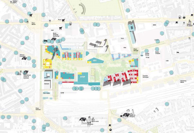 een functionele mix complementair aan de bestaande functies in de wijk