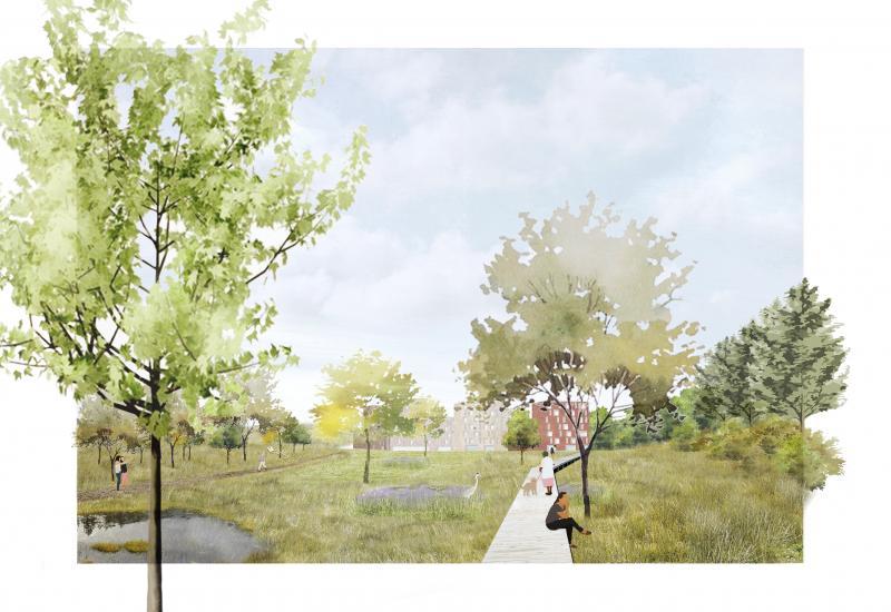 Josaphat: zicht op het biopark