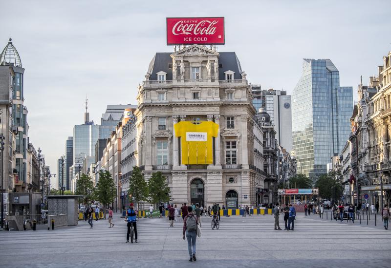 Brussels Grand Départ 2019 - Place De Brouckère - De Brouckèreplein