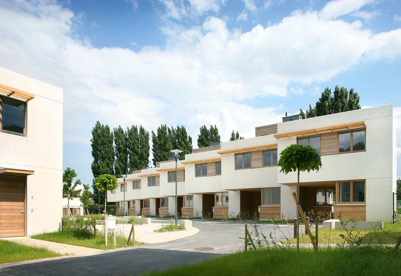 Cité moderne, construction neuve, Berchem-Sainte-Agathe