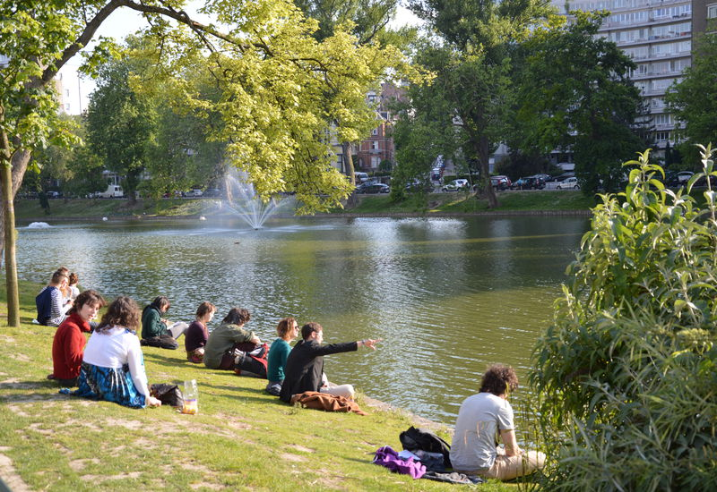 The ponds of Ixelles