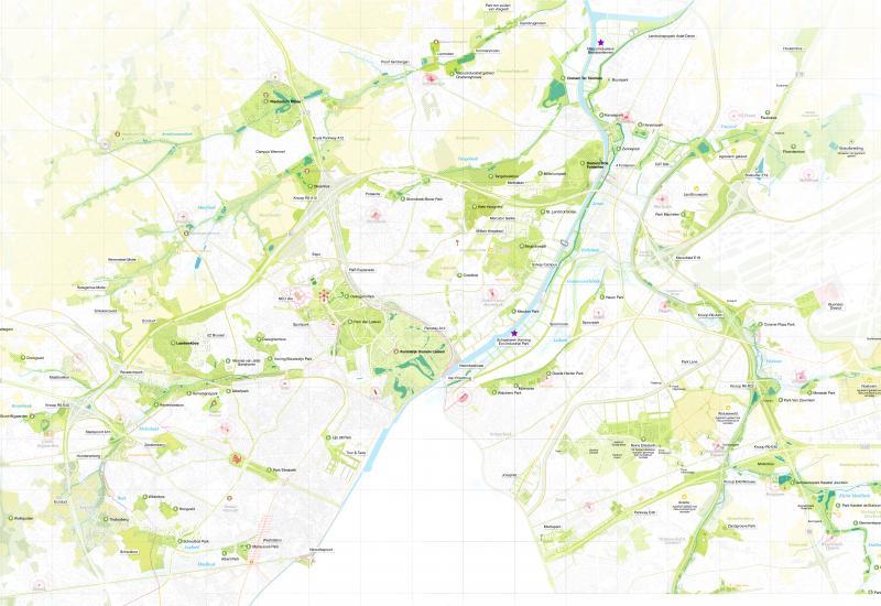 Un réseau durable d'espaces ouverts dans et autour de Bruxelles
