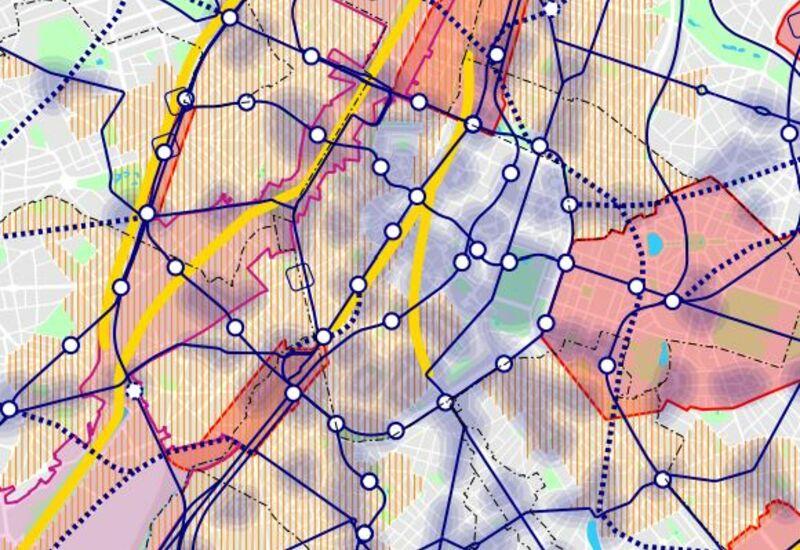 Extract van de Kaart 08 van het GPDO